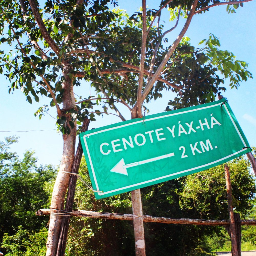 Yax-ha had only been open for 2 months. Near Merida.