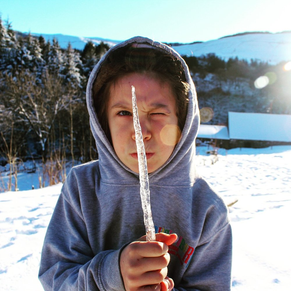 Icicle light sabre.