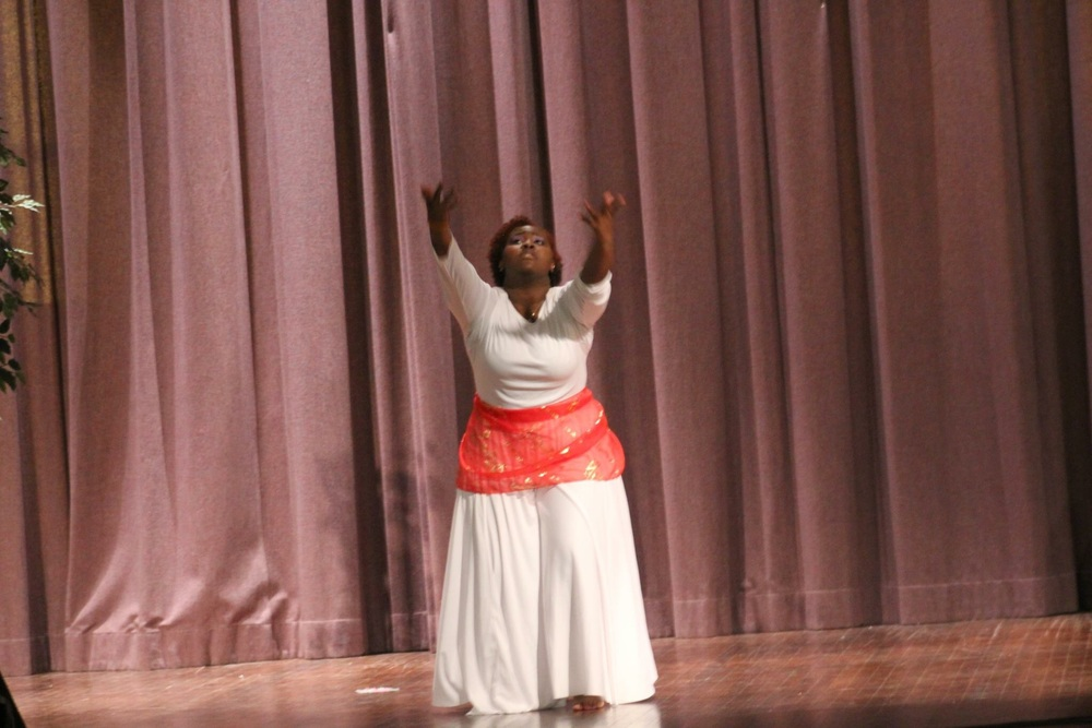 Me dancing for Jesus