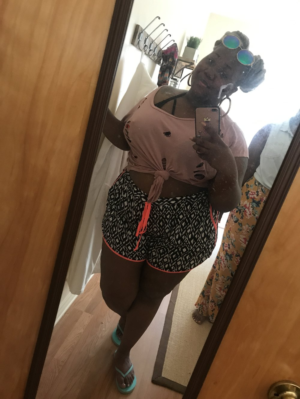 One of my favorite outfits I wore. This was beach day!