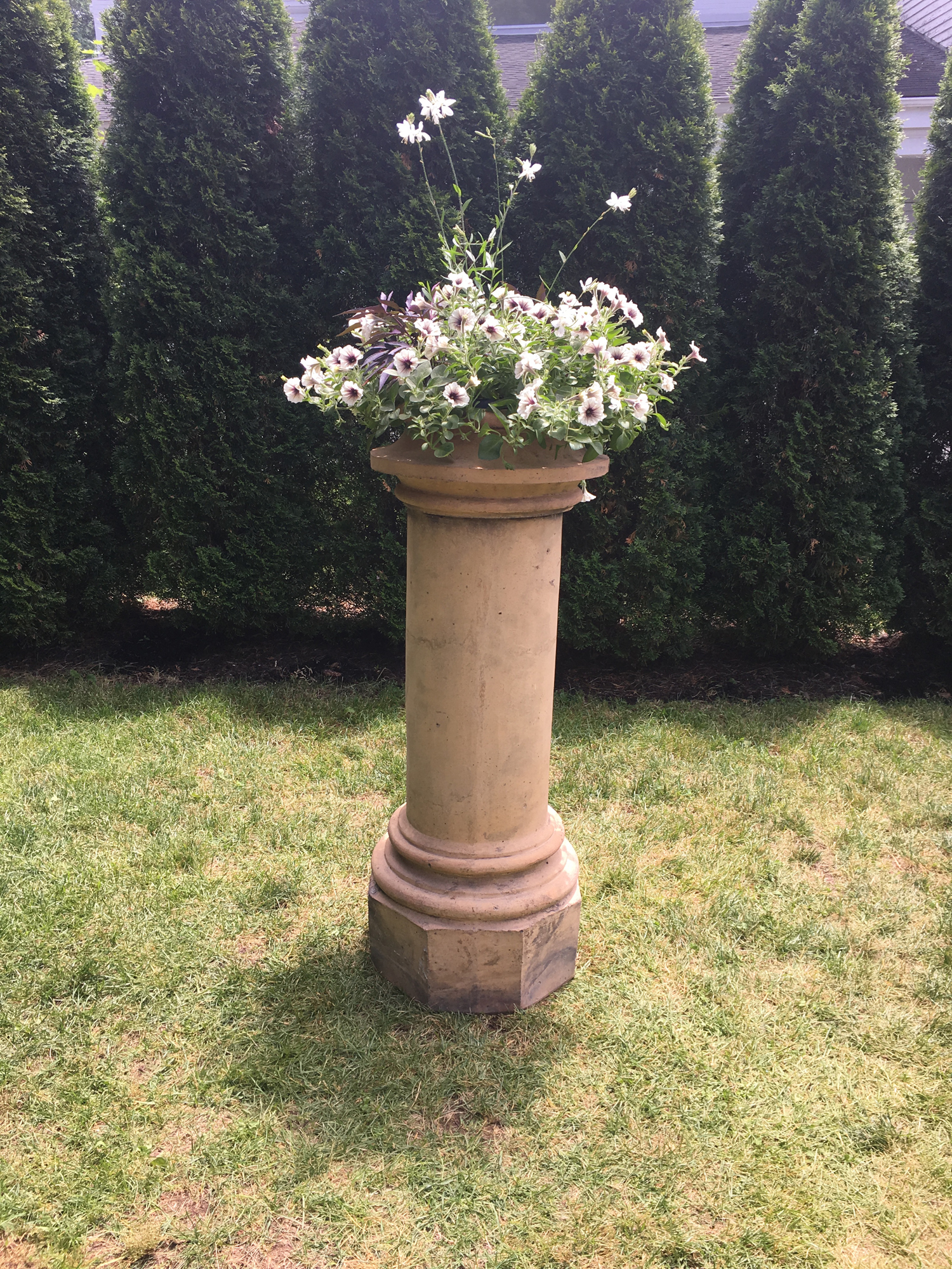 pedestal shepton classic has view a stone website the ornaments since sheptonclassicstone for uk up set large producing with to blight when garden morgan stoneware uns it by been was