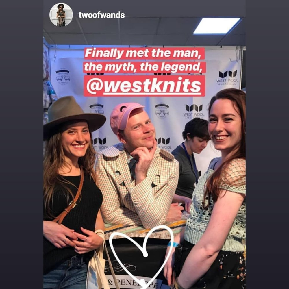 oh yeah, finally met Stephen West!