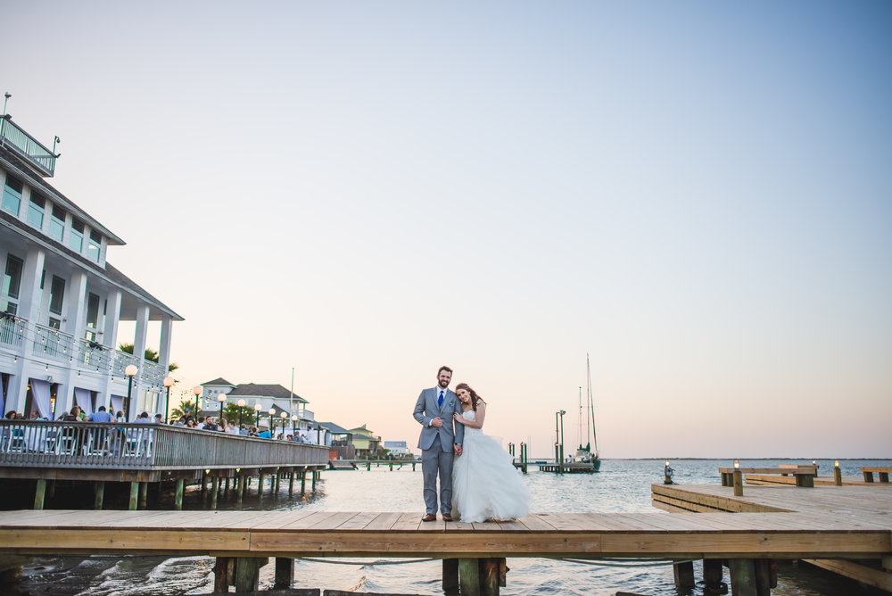 Destination Wedding Portrait At Mansion By The Sea