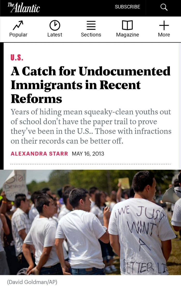 ICLC Staff Attorney Jessica Greenberg discusses the difficulty of acquiring the necessary documentation to prove DACA-eligibility.  The article is available here:  A Catch for Undocumented Immigrants in Recent Reforms .