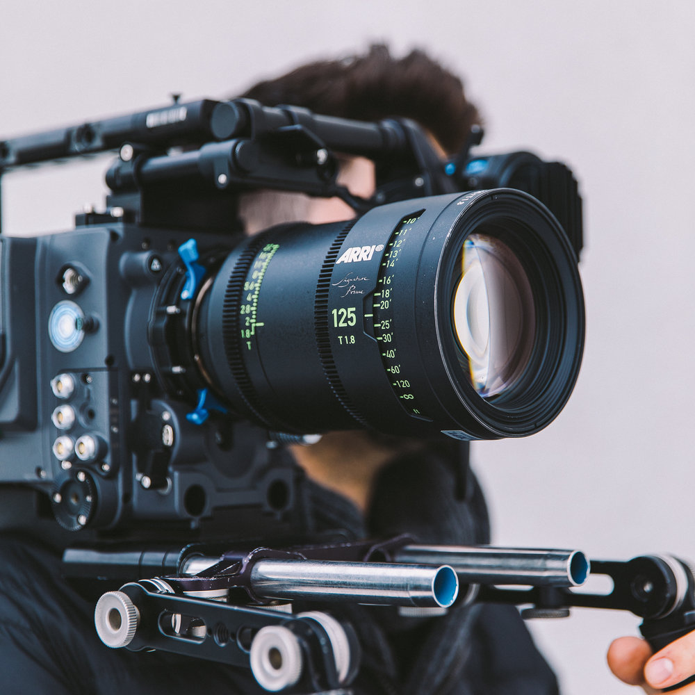 Alexa LF with a 125mm Signature Prime