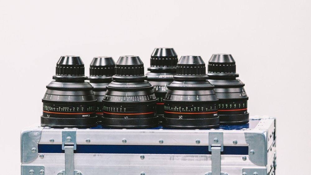 Canon CN-E Primes