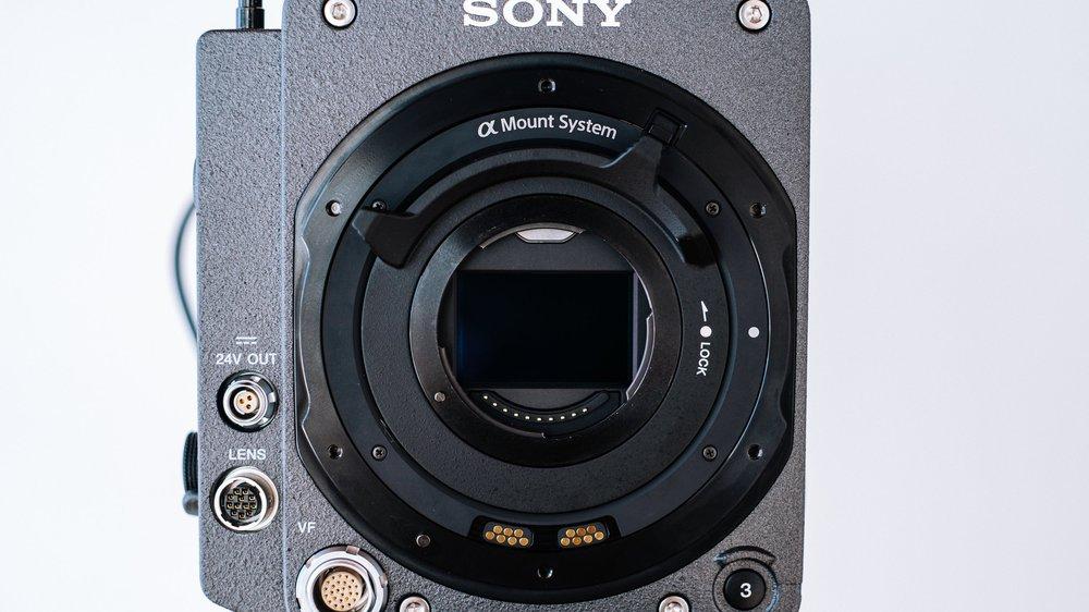 Sony Venice Full Frame Sensor