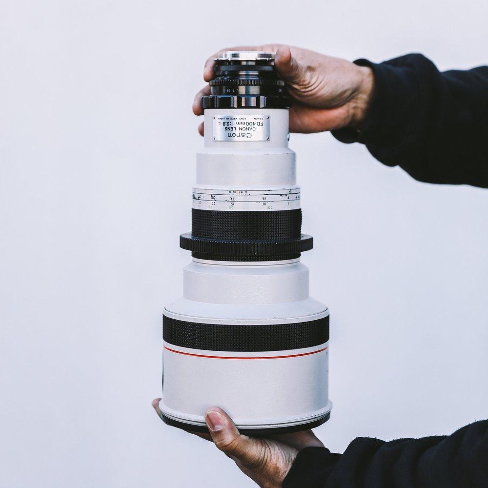 Canon FD 400mm F2.8