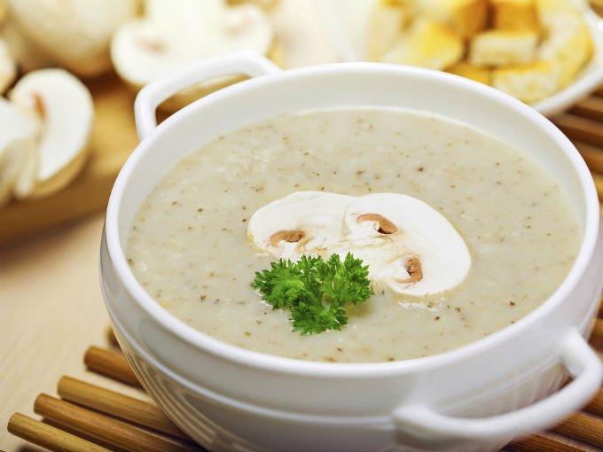 Sopa de champiñones / Foto: cocinar.net