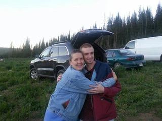 Heidi and Mitch