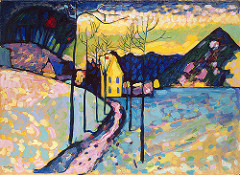 Photo credit: mrwtfd/flickr Winter Landscape Wassily Kandinsky