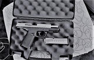 Mitchell's loaded gun.