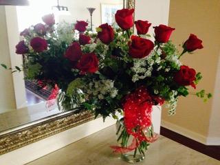 Birthday roses...
