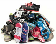 welcomehomehousing.org  is collecting shoes for a fundraiser. Visit their website for more information.