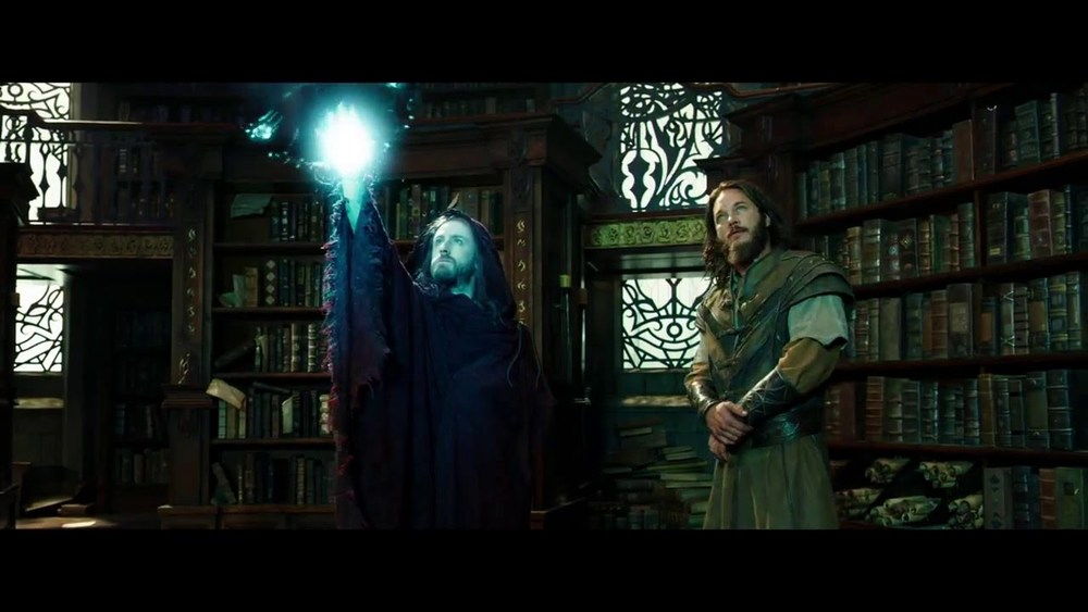 A bored Ben Foster casts a spell for Fimmel