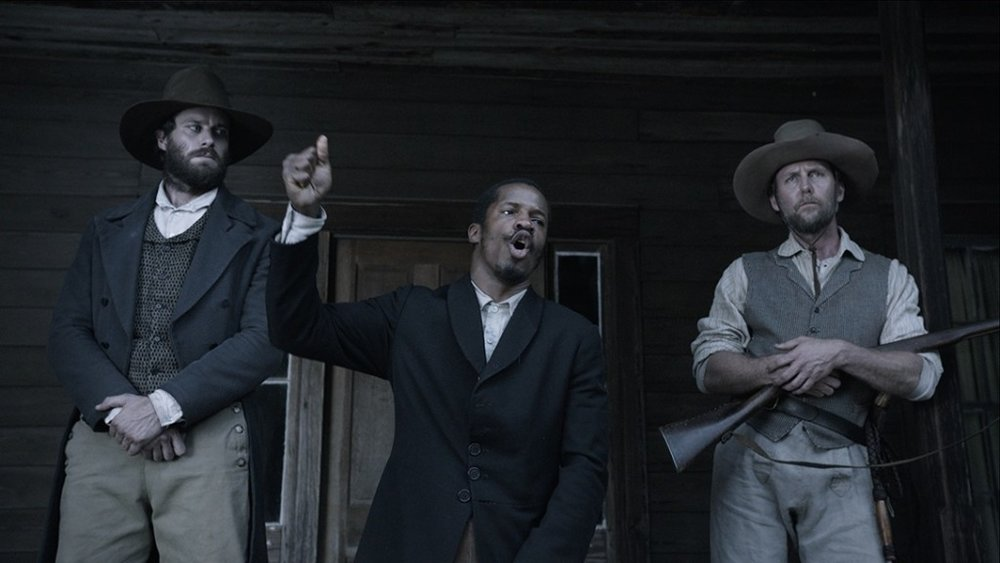 From left to right: Armie Hammer and Nate Parker star in 'The Birth of a Nation'.