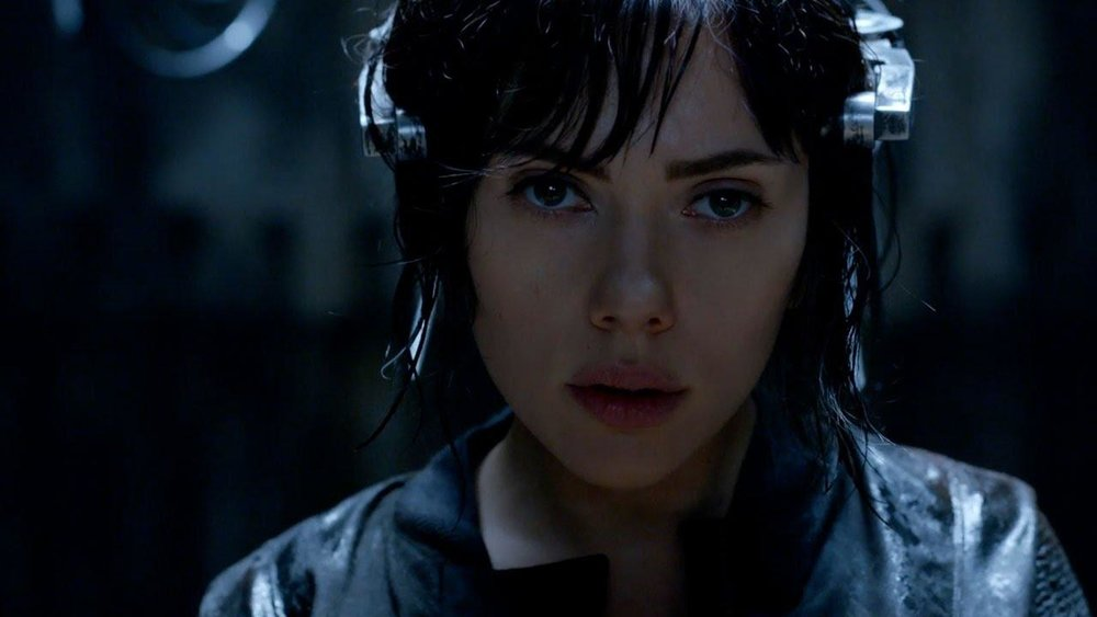 Scarlett Johansson stars in 'Ghost in the Shell'.