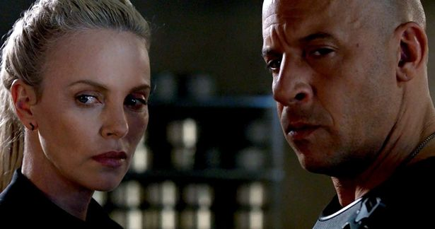 Charlize Theron and Vin Diesel star in 'The Fate of the Furious'.