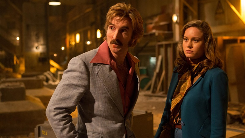 Sharlto Copley and Brie Larson star in 'Free Fire'.
