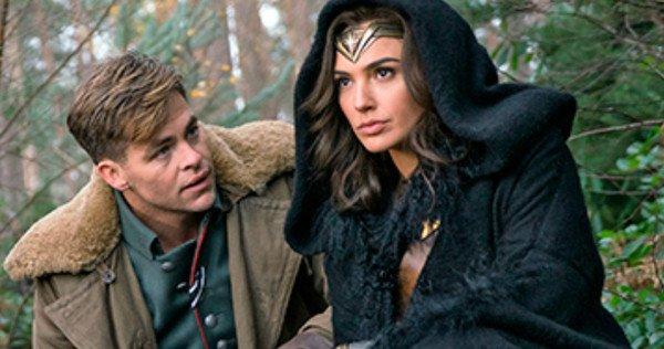Chris Pine and Gal Gadot star in 'Wonder Woman'.