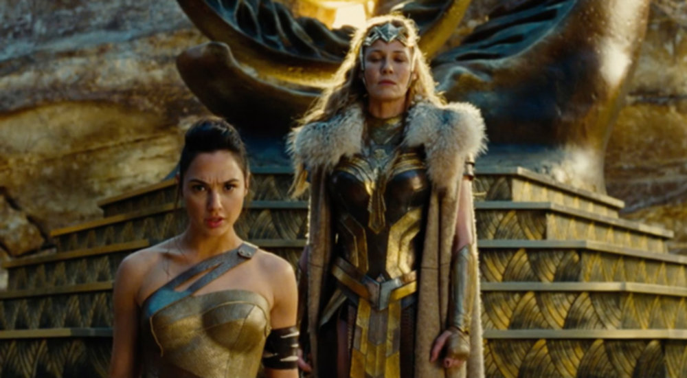 They know how to dress in Themyscira.