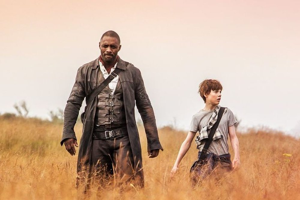 Idris Elba and Tom Taylor star in 'The Dark Tower'.