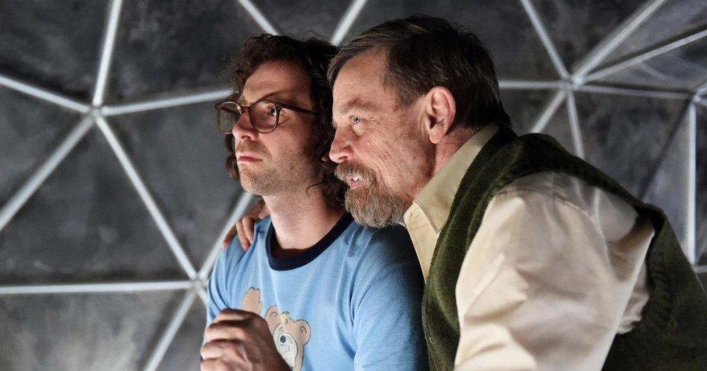 Kyle Mooney and Mark Hamill star in 'Brigsby Bear'.