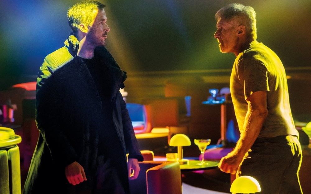 Ryan Gosling and Harrison Ford star in 'Blade Runner 2049'.