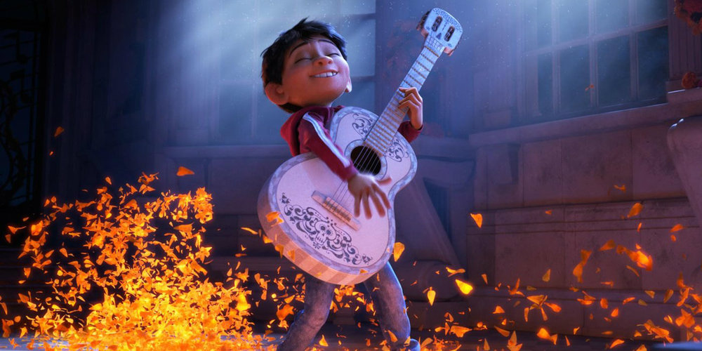 Anthony Gonzalez stars as Miguel Rivera in Pixar's 'Coco'.