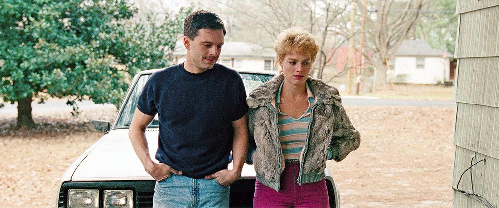 Sebastian Stan and Margot Robbie star in 'I, Tonya'.