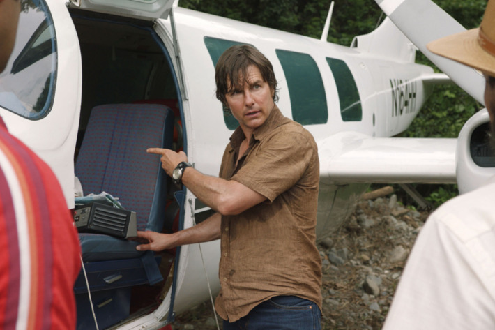 Tom Cruise in 'American Made'.