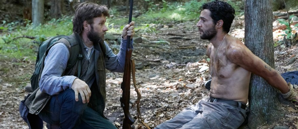 Joel Edgerton and Christopher Abbott in 'It Comes at Night'.