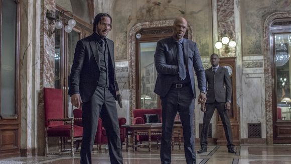 Keanu Reeves and Common in 'John Wick: Chapter 2'.