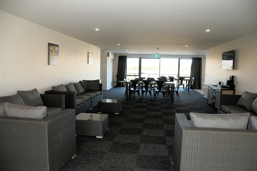 Large communal living area