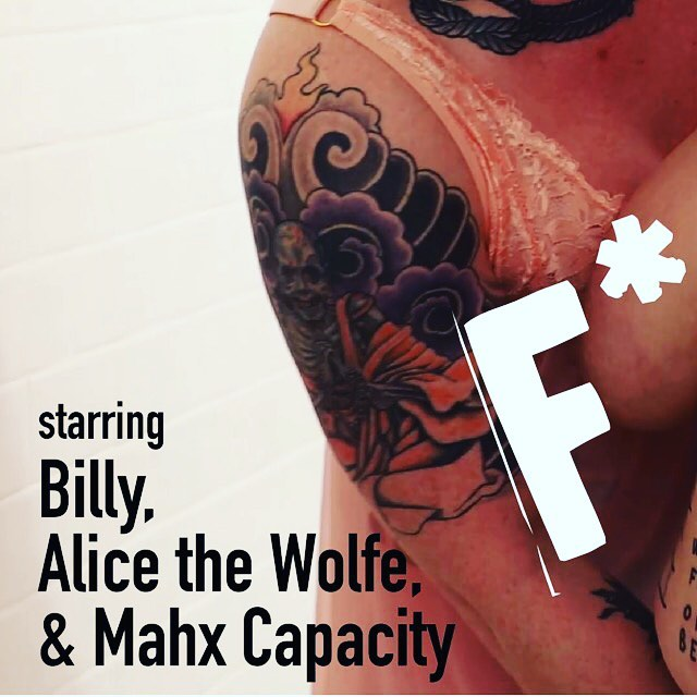 """Get the full 📷 on our profile! Announcing AORTA's November film """"F*ck is Right"""" starring @mahxcapacityirl, @alice_the_wolfe, and @billytheropepig! Shot by @patrickisphotographer, directed by @call_me_partsauthority, edited by @heart0byrne, and featuring an original score by @rhythmbeard! Streaming starting November 1st for our $9+ patreon backers! . . . Mahx Capacity's night in. When Billy and Alice the Wolfe catch Mahx getting ready for a night out, they know just how to keep their play-thing at home. A stern grab and Mx. Capacity drops to their knees, ready to be the perfect slut for two hungry femmes. Strung up in the shower, Mahx shows just how eager they are to please. Mahx succumbs to wracking orgasm as Billy and Alice fill their holes with dildos, fists and a cherry-red heel. Finally, Alice eases them into the bath, and Mahx comes down to the sharp sting of her needles…and comes again. . . . #queerporn #indieporn #altporn #feministporn #ethicalporn #queer #trans #nonbinary #enby #femme #femme4femme4femme #queerfatfemme #fatfemme #transdyke #ropequeers #they #gaypigs #shibari #kinbaku #fatandhappy #fatandfree"""