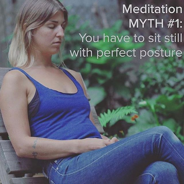 myth 1 #transcendwhereyouare  MYTH #1: YOU HAVE TO SIT STILL WITH PERFECT POSTURE When you learn Vedic meditation, you get to sit comfortably with your back supported and your arms and legs in any comfortable position. What a relief! You can also adjust your position during meditation; there's no need to be a statue (thank god). In Vedic meditation, we don't require perfect posture because this technique works better in a relaxed upright position. Forcing perfect posture can create strain and stress rather than add benefit. So sit back, relax and enjoy.  #vedicmeditation #meditate #meditatedaily #meditation #meditationmyth #meditateeveryday #meditateeverydamnday #yoga #yogaeverydamnday #mindhealth #mindfulness #mind #cleaning #myth #vm #tm #transcend #transcendence #transformation