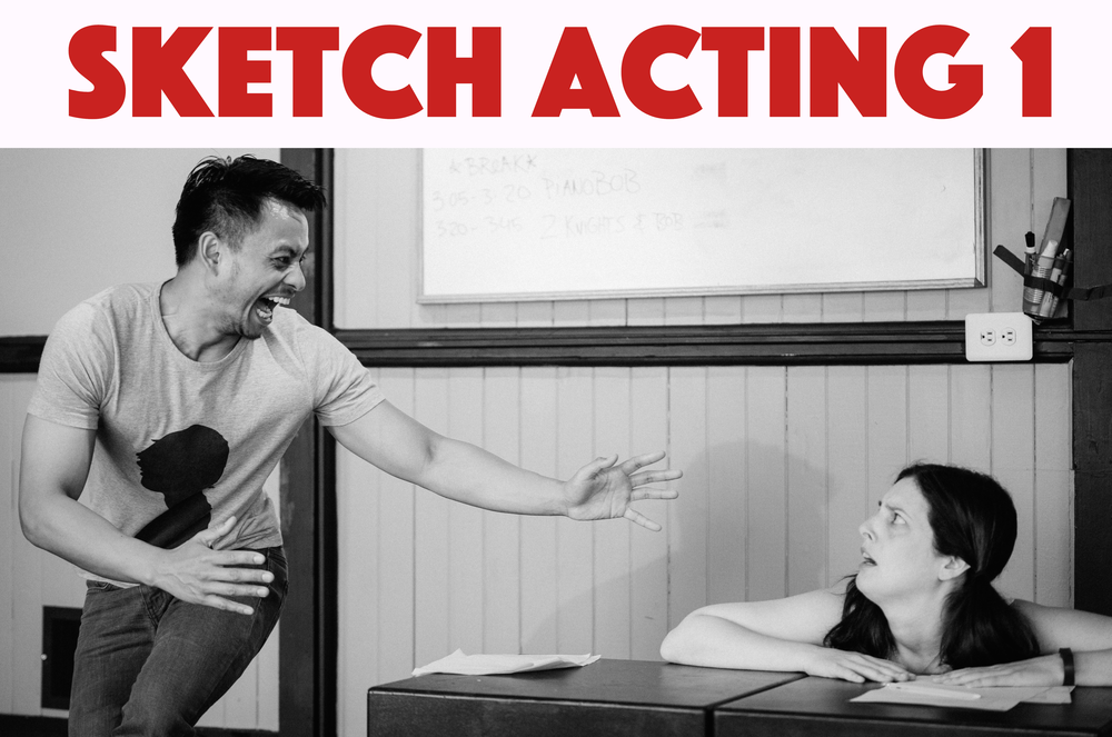 "Learn to perform sketch comedy The KML Way: through intuition, dedication, and collaboration. Learn to take risks, trust your instincts, and ""find the game."" Sketch Acting 1 is open to all experience levels."