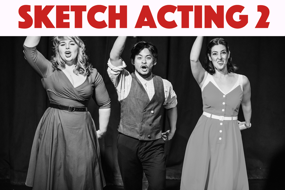Build on your skills and challenge yourself to widen your playable character range. Learn to identify and flip status within a scene and sharpen your pacing instincts. Sketch Acting 2 is open to students who have completed Sketch Acting 1.