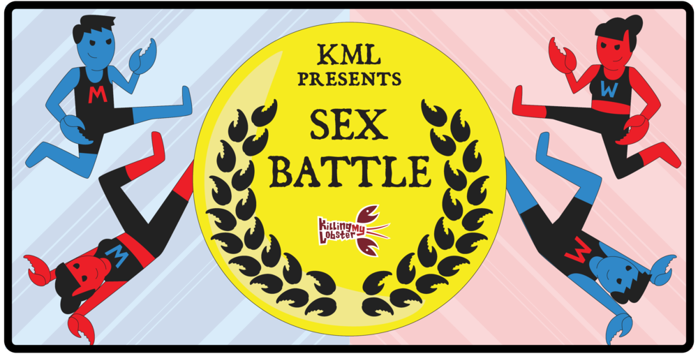 See our next live show: SEX BATTLE, March 2nd - 18th!