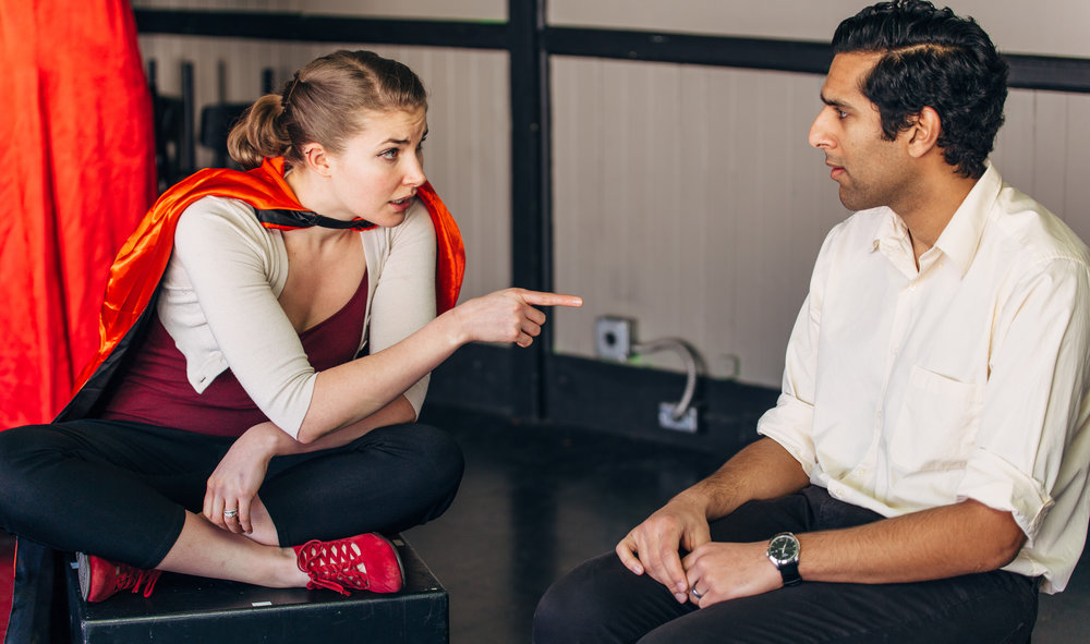 Actors Nicole Odell & Omar Abdullah