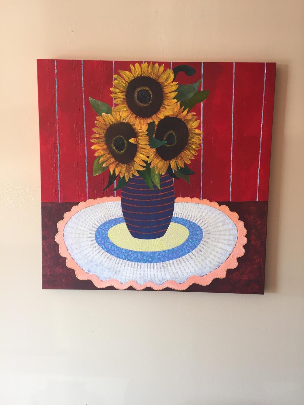 Sunflowers, L.Lopez