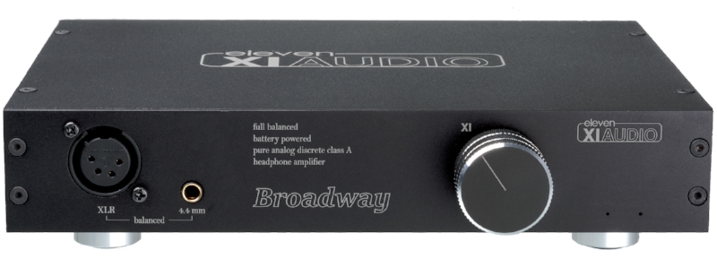The Broadway Headphone Amplifier- Fully balanced battery power on tap