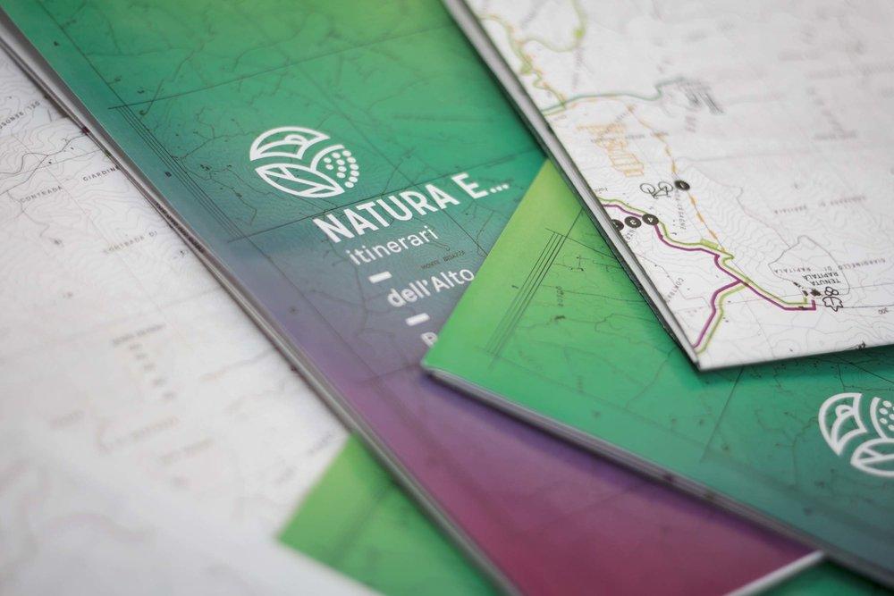 Progetto selezionato   Titolo del progetto: Natura e... Itinerari dell'Alto Belice  Progettista: OddAgency e Alexandra Dossi  Committente: Pro Loco Camporeale