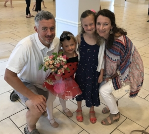 Sela's dance recital.