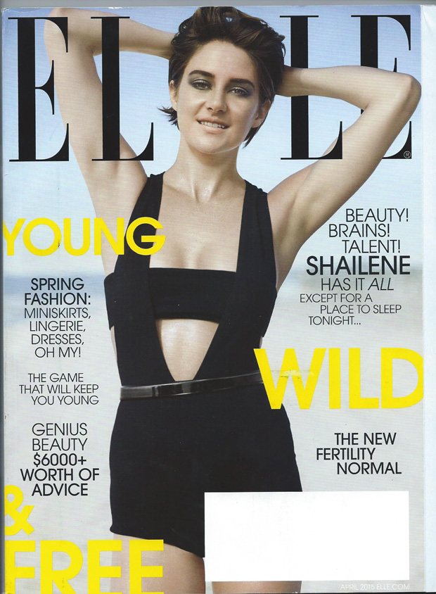 Turner & Tatler jewelry was featured in the April 2015 issue of Elle Magazine.