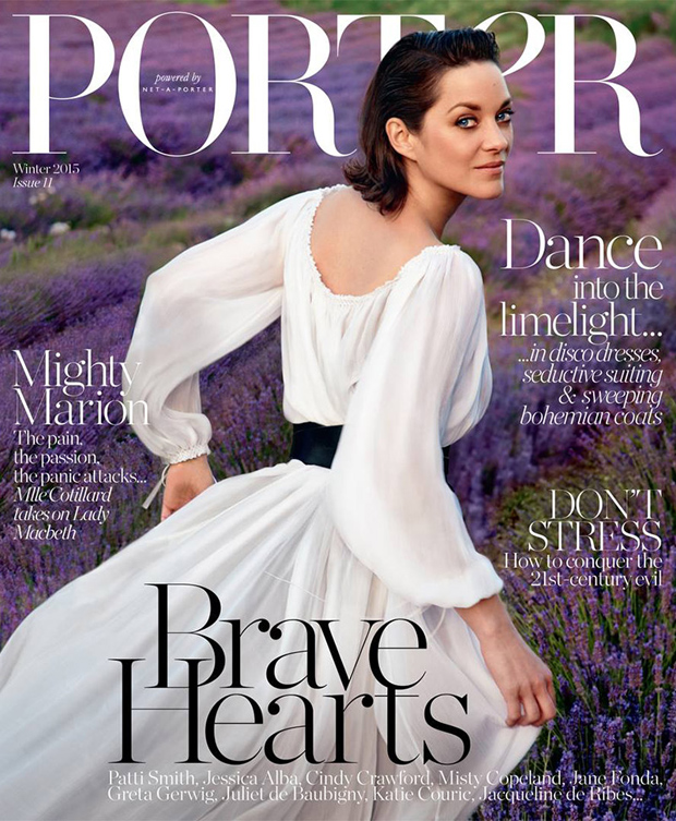 Turner & Tatler jewelry was featured in the Fall 2015 issue of Porter Magazine.