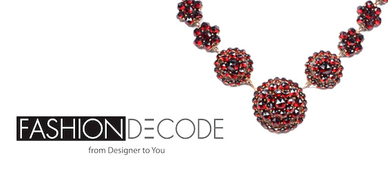Turner and Tatler's   Bohemian Garnet Cluster Necklace   was recently featured on Fashion Decode.