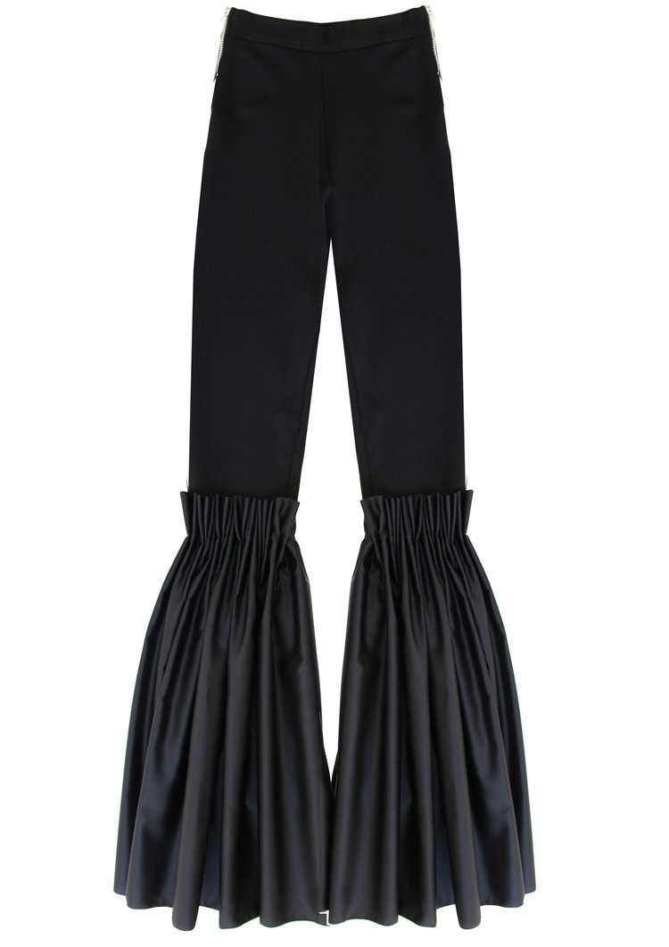 a519d46b07d067 FLARE LEGGINGS. black frill trousers.jpg