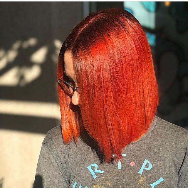 🔥 🔥 🔥 #nofiltercolor #hookandscissor #copperhair #scruplestrueintegrity #sanfranciscohair