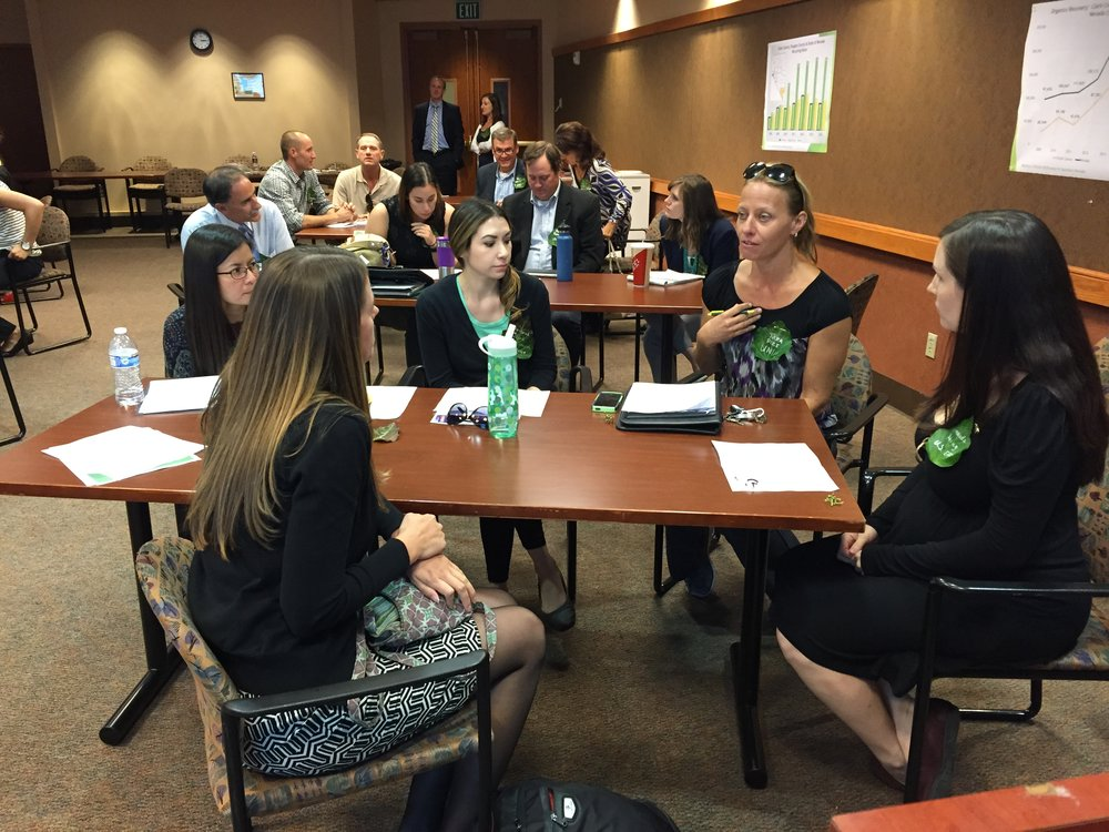 On September 30th, 2015, as part of the EPA's  Making a Visible Difference in Communities  initiative, a Southern Nevada Food and Organics Recovery Workshop was hosted by U.S. EPA, the Nevada Department of Environmental Protection (NDEP), the Environmental Finance Center West (EFCWest) and the Regional Transportation Commission (RTC) of Southern Nevada, in Las Vegas.  This workshop brought together 36 representatives from the private sector, government agencies, non-profit organizations and academia to explore opportunities and barriers to the recovery of wasted food and other organic wastes generated in Southern Nevada.    Download the Workshop Report below.